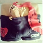 California-San-Francisco-Gay-Black-leather-underwear-cake