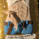 Houston-Texas-swinging-dick-jeans-erotic-torso-cake
