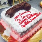 Miami-Beach-Florida-Bulging-Large-veined-cock-on cake