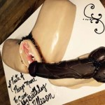 Brooklyn-Big-black-dick-slids-into-spead-eagle-tan-pussy-sex-cake